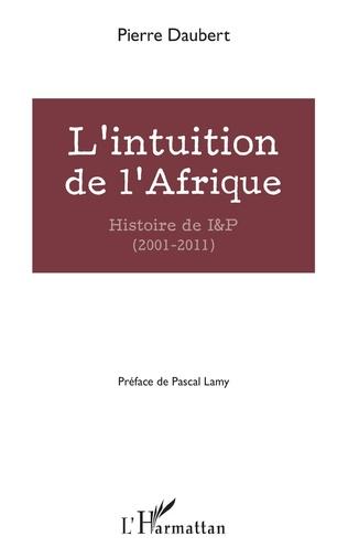 Couverture L'intuition de l'Afrique