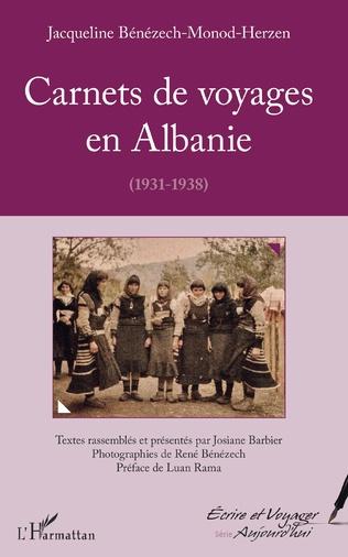Couverture Carnets de voyages en Albanie