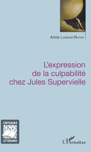 Couverture Expression de la culpabilité chez Jules Supervielle
