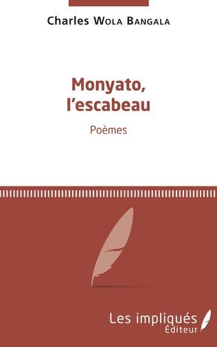 Couverture Monyato, l'escabeau