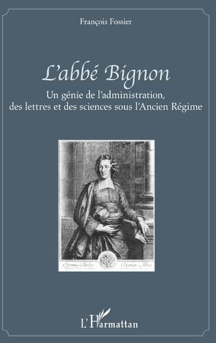 Couverture L'abbé Bignon