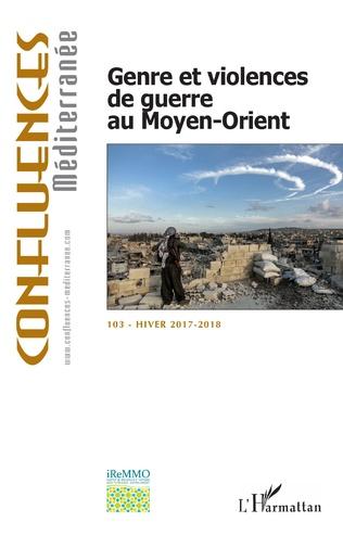 Couverture Genre et violence de guerre au Moyen-Orient