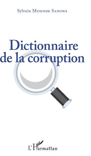 Couverture Dictionnaire de la corruption