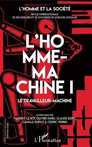 Couverture L'Homme-machine I
