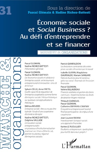 Couverture Economie sociale et Social Business ?