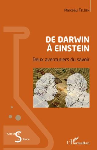 Couverture De Darwin à Einstein