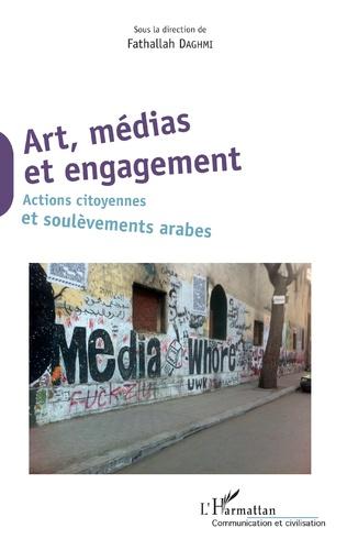 Couverture Art, médias et engagement