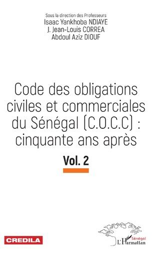 Couverture Code des obligations civiles et commerciales du Sénégal (C.O.C.C): cinquante ans après