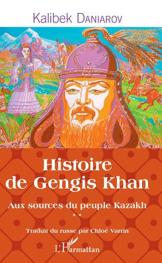 Couverture Histoire de Gengis Khan