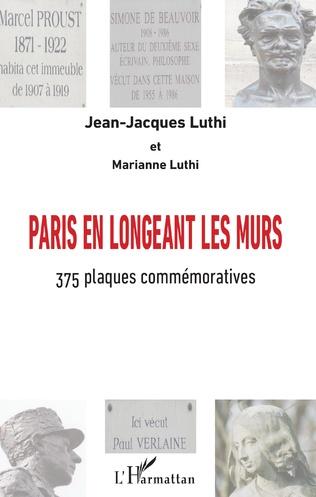 Couverture Paris en longeant les murs