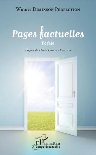 Couverture Pages factuelles. Poésie