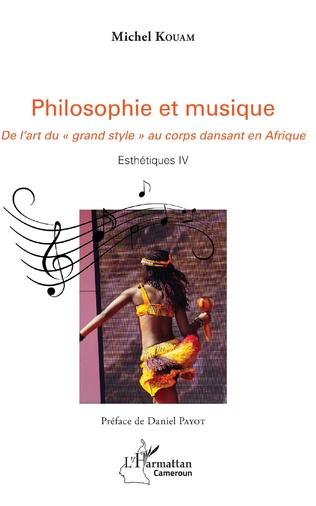 Couverture Philosophie et musique