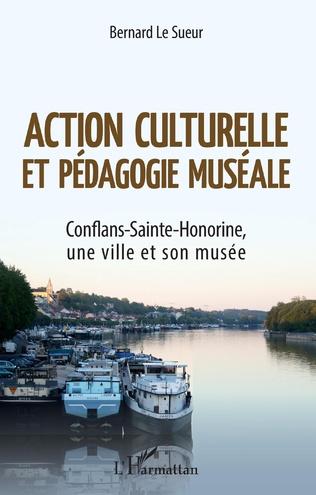 Couverture Action culturelle et pédagogie muséale