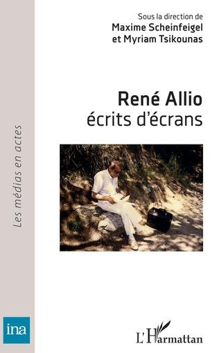 Couverture René Allio,