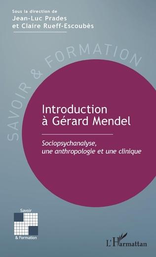 Couverture Introduction à Gérard Mendel