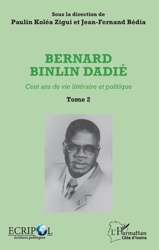 Couverture Bernard Binlin Dadié Tome 2