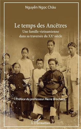 Couverture Le temps des Ancêtres