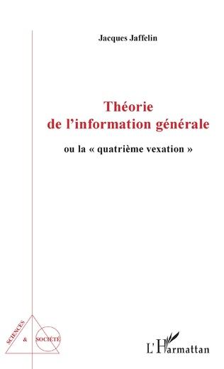 Couverture Théorie de l'information générale