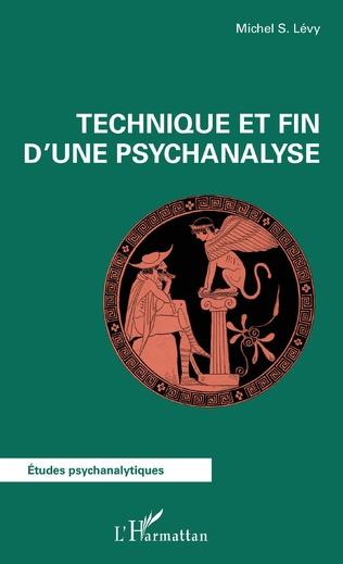 Couverture Technique et fin d'une psychanalyse