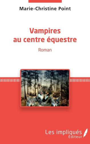 Couverture Vampires au centre équestre