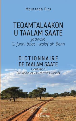 Couverture Dictionnaire de Taalam Saate
