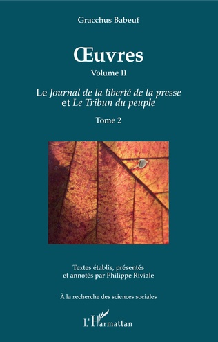 Couverture OEuvres (Grachus Babeuf) Volume II