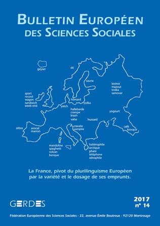 Couverture Bulletin européen des sciences sociales n°14