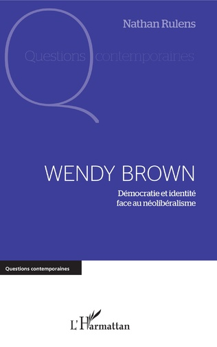 Couverture Wendy Brown
