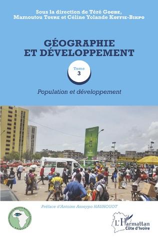 Couverture Géographie et développement Tome 3