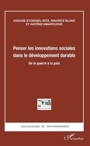 Couverture Penser les innovations sociales dans le développement durable