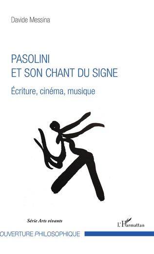 Couverture Pasolini et son chant du signe