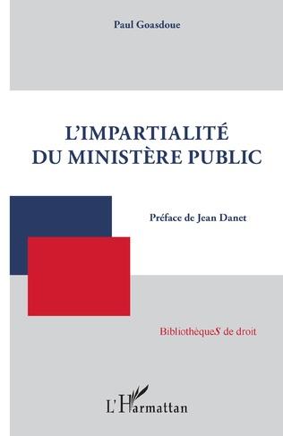 Couverture L'impartialité du ministère public