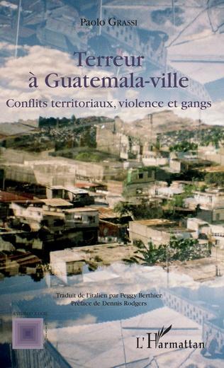 Couverture Terreur à Guatemala-ville