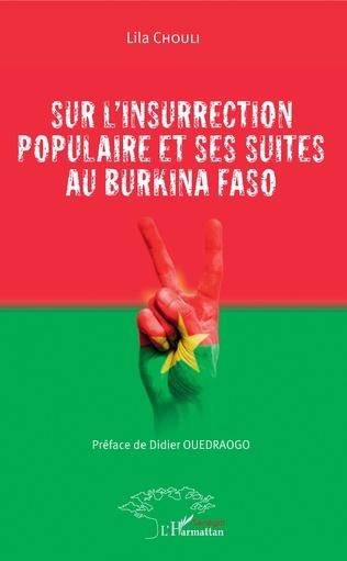 Couverture Sur l'insurrection populaire et ses suites au Burkina Faso