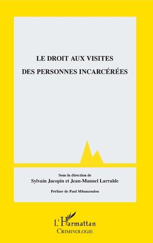 Couverture Droit aux visites des personnes incarcérées