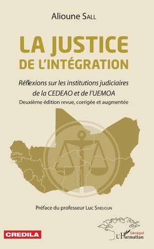 Couverture La justice de l'intégration