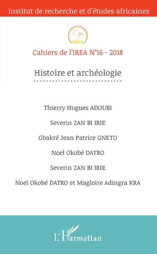 Couverture Histoire et archéologie
