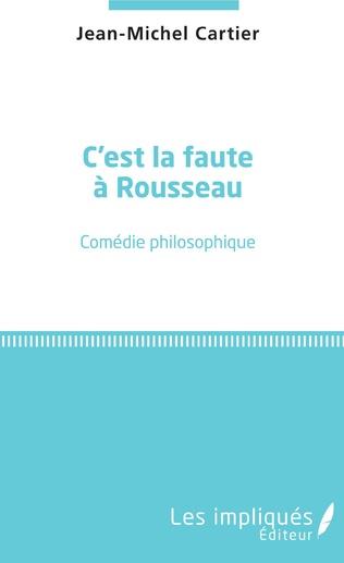 Couverture C'est la faute à Rousseau