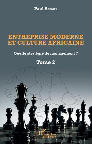 Couverture Entreprise moderne et culture africaine