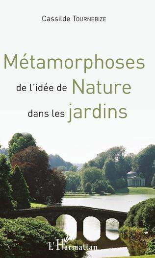 Couverture Métamorphoses de l'idée de Nature dans les jardins
