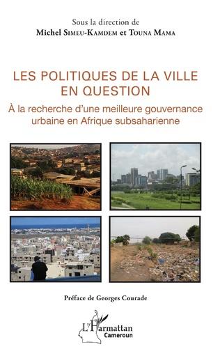 Couverture Les politiques de la ville en question