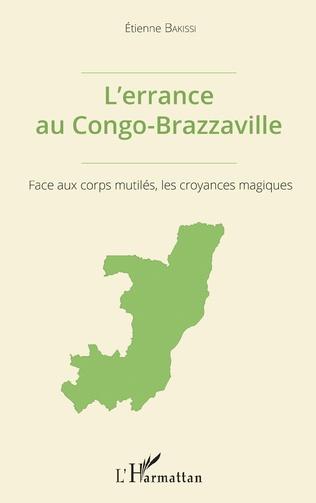 Couverture L'errance au Congo-Brazzaville