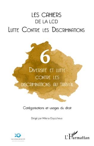Couverture Diversité et lutte contre les discriminations au travail. Catégorisations et usages du droit
