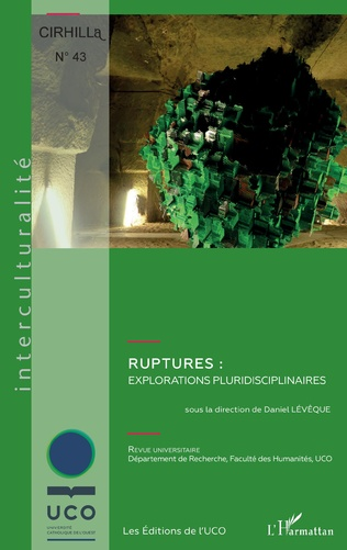 Couverture Ruptures : explorations pluridisciplinaires