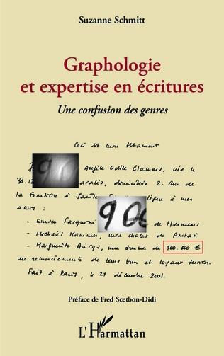 Couverture Graphologie et expertise en écritures