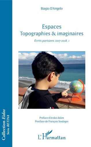 Couverture Espaces Topographies & imaginaires