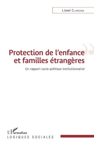 Couverture Protection de l'enfance et familles étrangères