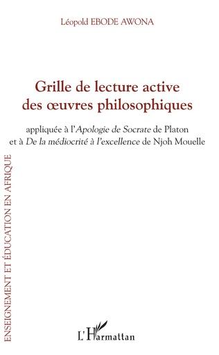 Couverture Grille de lecture active des oeuvres philosophiques