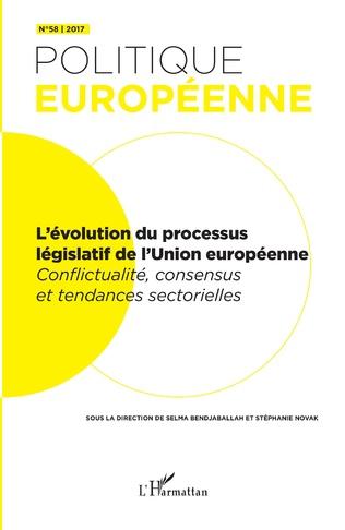Couverture L'évolution du processus législatif de l'Union européenne