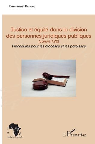 Couverture Justice et équité dans la division des personnes juridiques publiques
